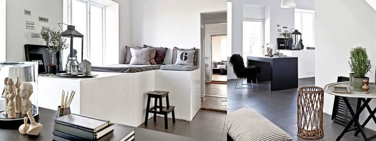 South-of-sweden-banner: Een Plek, Http Nordicdesign Ca, Nordic Design, Grey White, Nordic Flats, Iedereen Wil, Black Flats, Toch Een, Nooks