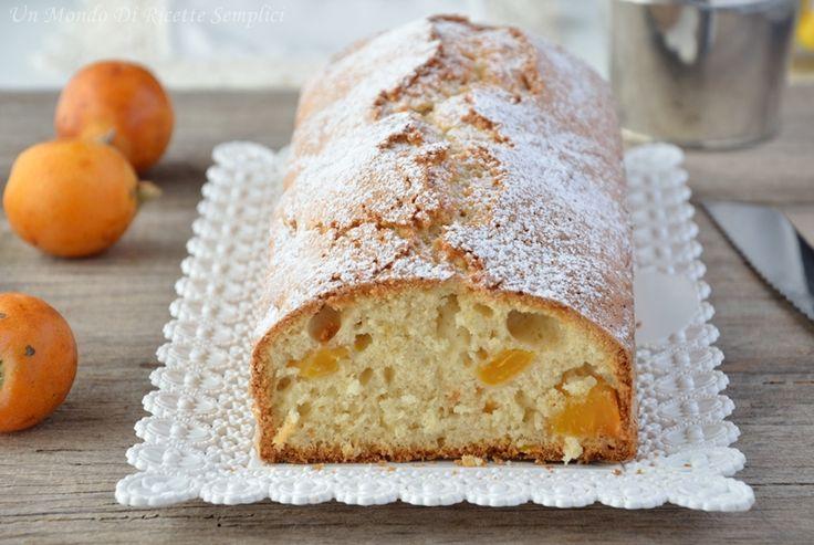 Con questa ricetta preparerete un plumcake con le nespole morbido e gustoso, perfetto da servire come colazione o merenda.