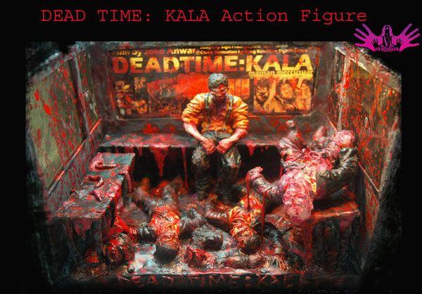 action figure based on Kala film by Joko Anwar