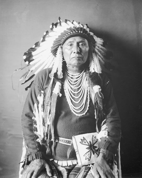 Chief Joseph - Nez Perce 1903