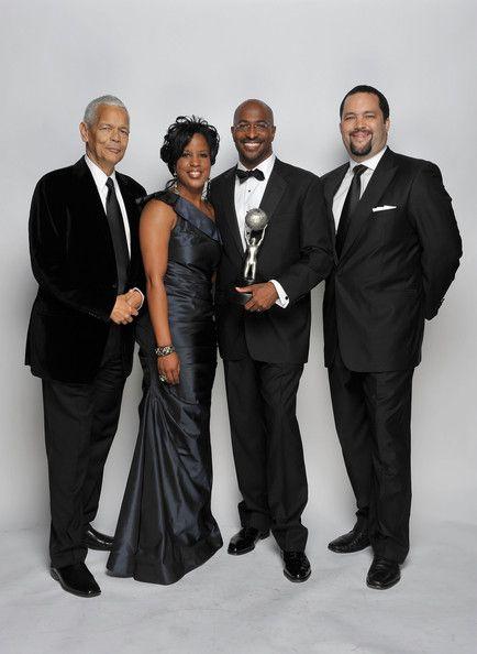 Julian Bond, Roslyn M. Brock, Van Jones & Benjamin Jealous at the 41st NAACP Image Awards - Portraits