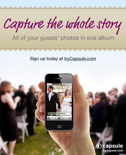 COOL APP Capsule Is The Easiest Way To Get All Wedding Photos Taken By