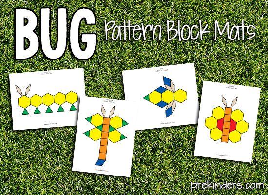 bug theme for preschool teachers | bug-pattern-block.png