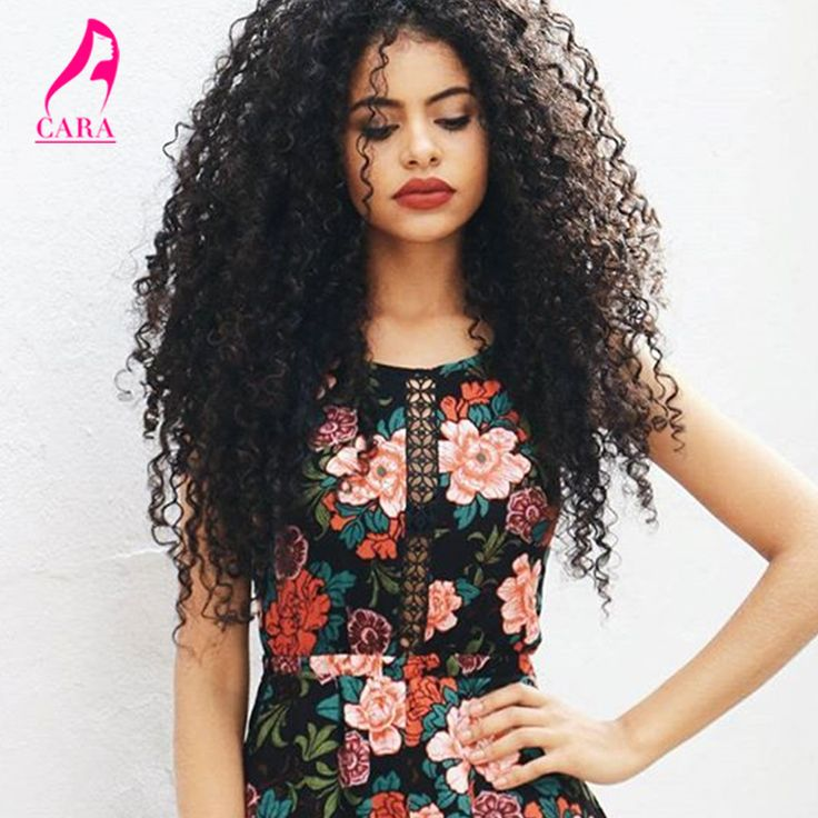 African American Clip In Human Hair Extensions 7A Brazilian Virgin Hair Kinky Curly Clip In Hair Extensions 7Pcs 120G Clip Ins