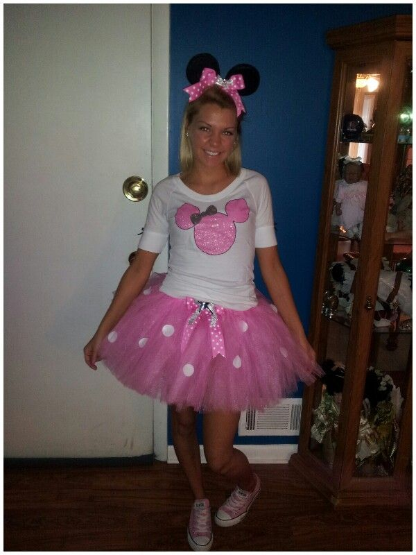 adult pink minnie mouse costume halloween - Halloween Costume Pink Dress