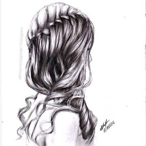 Best Hair Drawing Images On Pinterest Hairstyle Ideas - Hairstyle drawing tumblr