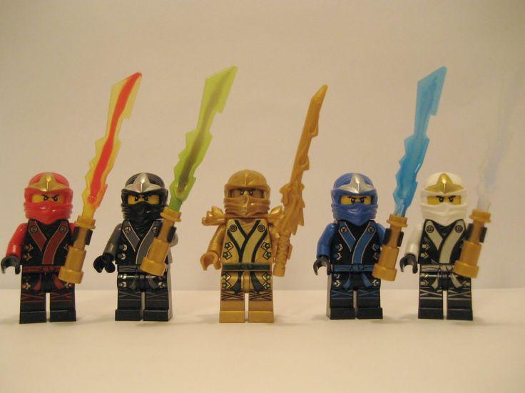 new 2013 lego ninjago kimono ninjas set of 5 loose from original