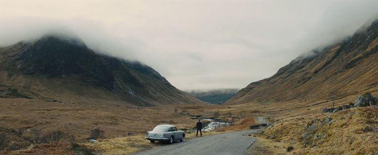 "Bond and Aston DB5 ""Skyfall"""