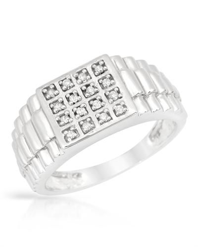 Square Sterling Silver Band