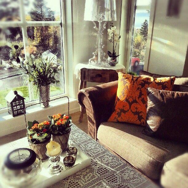 Old and new in perfect harmony - Bourgie by Ferruccio Laviani  ||    Høst#og#jordfarger#i#stua#mi#orange #kartell# #verdal#details#interiør Thanks to @beritaks Instagram Profile