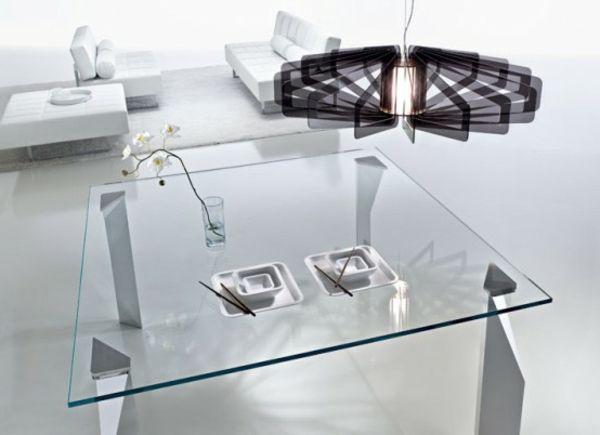 Wohnzimmer Glastisch Wohnzimmer #dekoideen  Esstisch mit