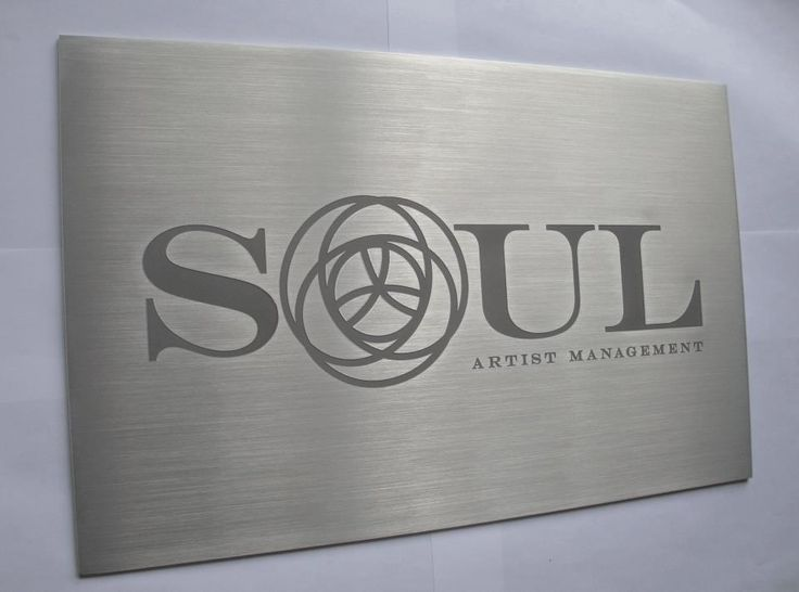Aluminum Wall Sign Nyc Business Wall Sign Nyc Metal