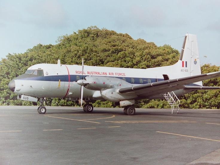 HS748NT, Norfolk Island - February 1989