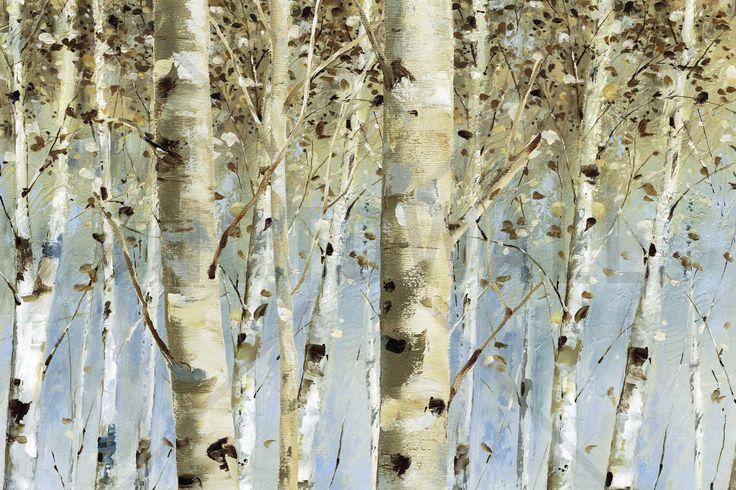 Light Forest - Wall Mural & Photo Wallpaper - Photowall