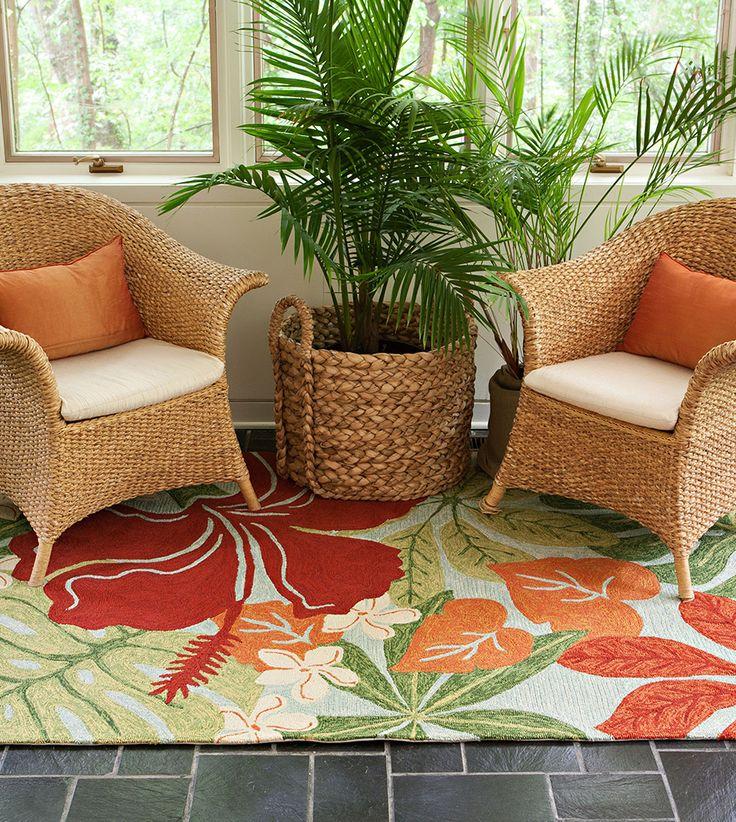 Hawaiian Style Area Rugs