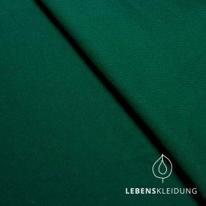 Bio-Stoffe - Bio Jersey dunkelgrün Grün ahorngrün - ein Designerstück von snekinhus bei DaWanda