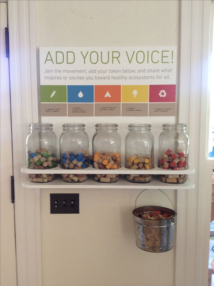 Add Your Voice! Ecology Center, San Juan Capistrano. Add a wine cork to the cause you will support.