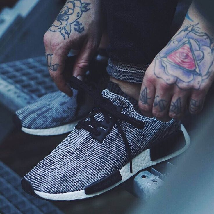 ADIDAS NMD Runner Core Black × Tattoos