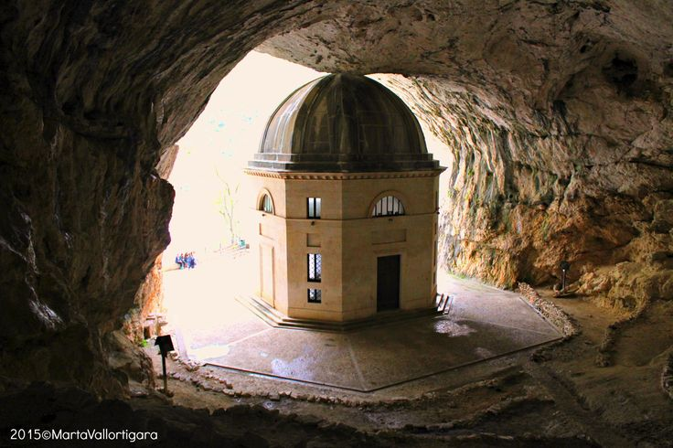 S. Mary's Sanctuary in Frasassi - Marche, Italy Photo by Marta Vallortigara #travelling #photography #tourist