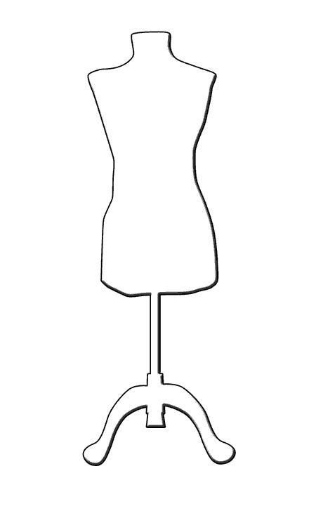 mannequin silhouette - Google Search | redefining design ...