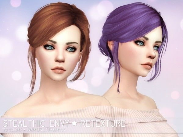 Aveira Sims 4: Stealthic Envy – Retexture • Sims 4 Downloads