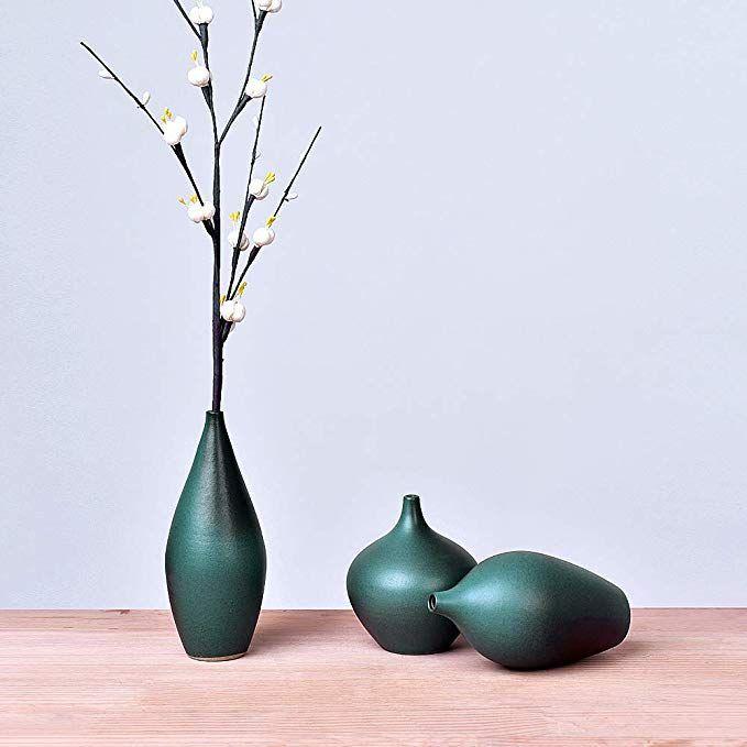 Brushed Ceramic Vase Vintage Nordic Style Vase Living Room Decoration Home Decor