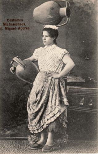 PORTUGAL-SAO-MIGUEL-AZORES-Costumes-Michaelenses-1906