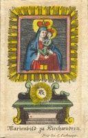"67. [Szűz Mária kegyképe Kostelní Vydříben] ""Marienbild zu Kirchwidern"""