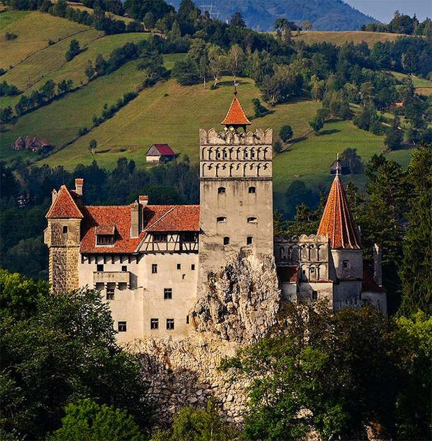 Dracula S Castle For Sale Perched High Up In The Misty
