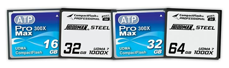 Compact Flash cards from MXM Express