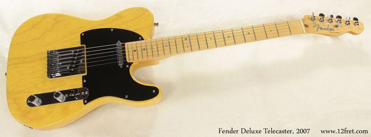 Fender Deluxe Ash Telecaster 2007-Natural