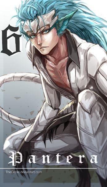 Grimmjow Jagerquaze Espada No 6  Anime Bleach