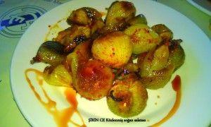 Közlenmiş Soğan Salatası