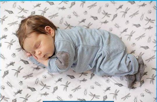 ropa de bebes recien nacidos varones de dormir