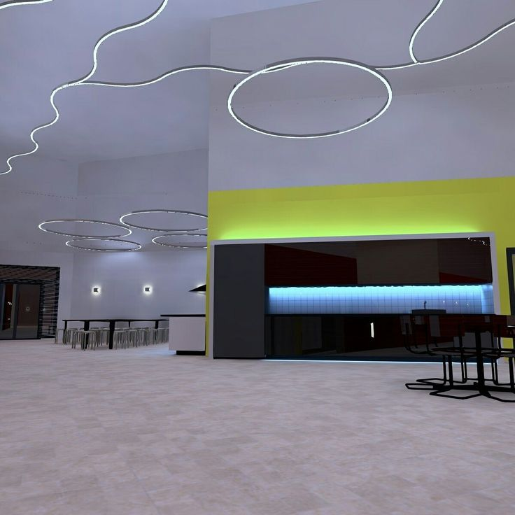 Lobby in my kindergarden lighting design project. #Dialux #DialuxEvo #lightdesign #lighting #architecturelightingdesign #architecture