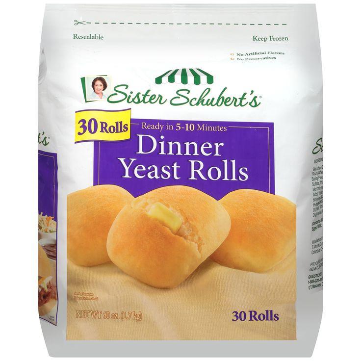 Frozen Dinner Rolls | Nutrition – Sister Schubert's - most delicious rolls ever!