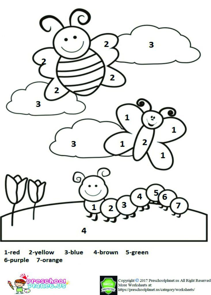Free printable spring worksheet for kids Spring coloring