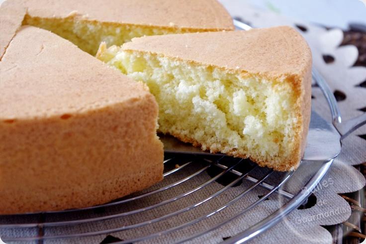 Sponge cake / Génoise nature maison... l'incontournable biscuit !