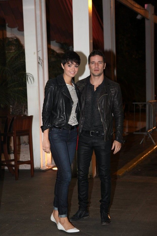 Sophie Charlotte e Daniel Oliveira (Foto: Claudio Andrade / Photo Rio News)