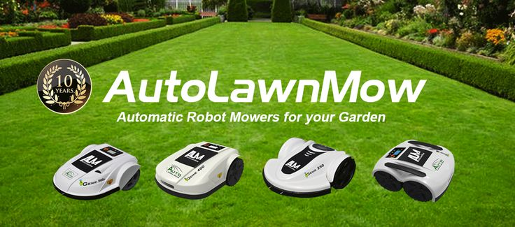 Automatic Lawnmower Range