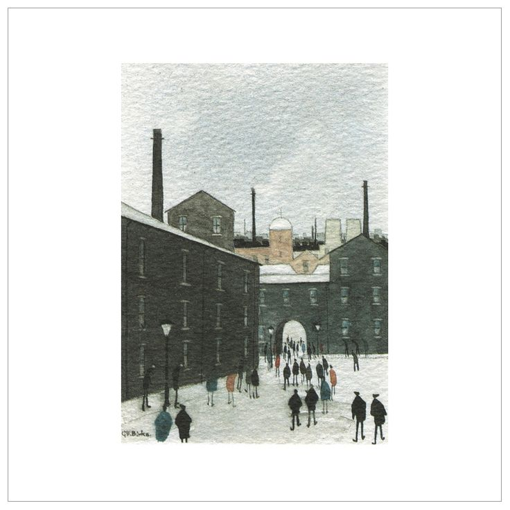 The Mill Yard – (Coloured)