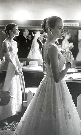 Grace Kelly & Audrey Hepburn.....wow