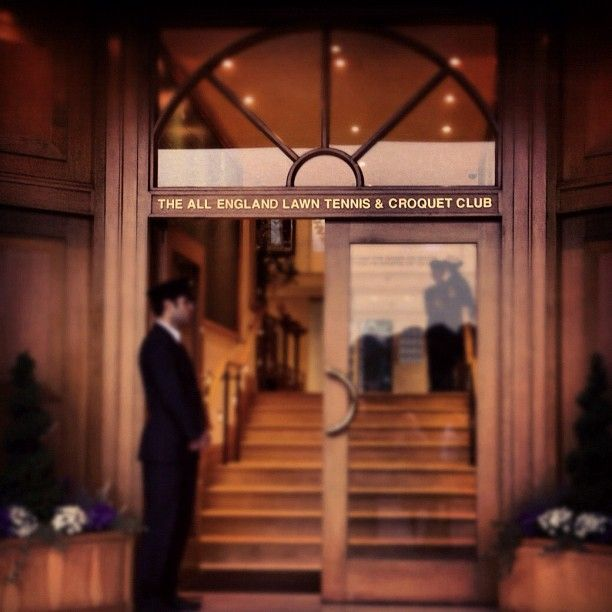 Members Only: The All England Lawn Tennis & Croquet Club, Wimbledon.  Photo credit: Tennis by Lisa