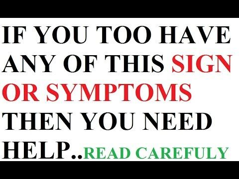 Signs and Symptoms of black Magic || How to know that someone has