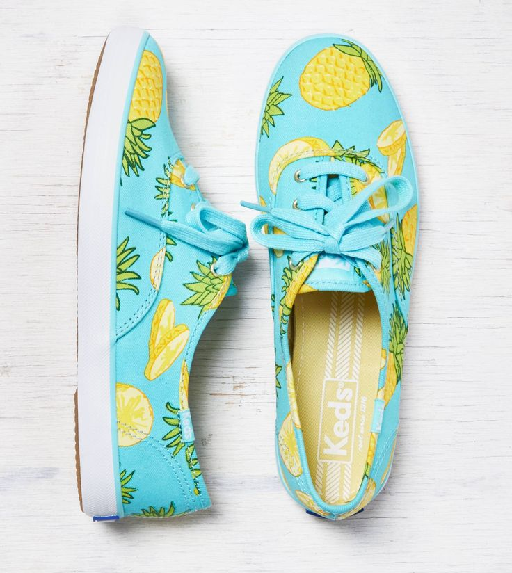 Pineapple Watermelon Some Kiwi Fruit And Lots Of Lemon Women's Casual Sneakers Boat Sports Fashion Gym