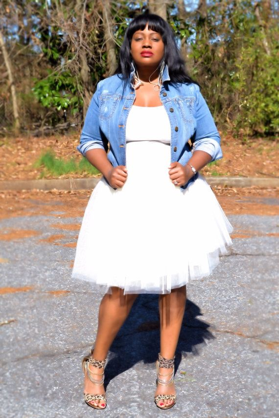 Tulle Tutu Skirt Black Plus Size by SpoiledDiva on Etsy
