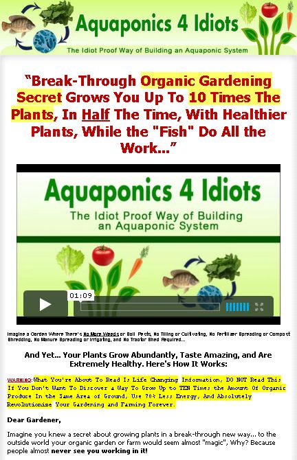 26 best indoor farm images on pinterest architecture gardening aquaponics 4 idiots the idiot proof way of building an aquaponic system break through organic gardening secret grows you up to 10 times the plants fandeluxe Gallery