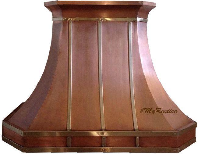 copper kitchen island hoods range canada hood