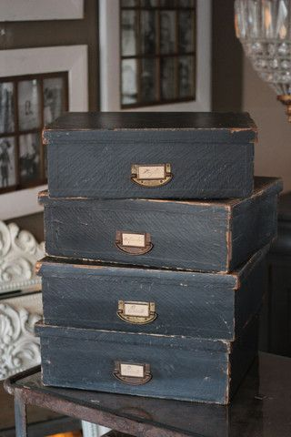 French Vintage Box