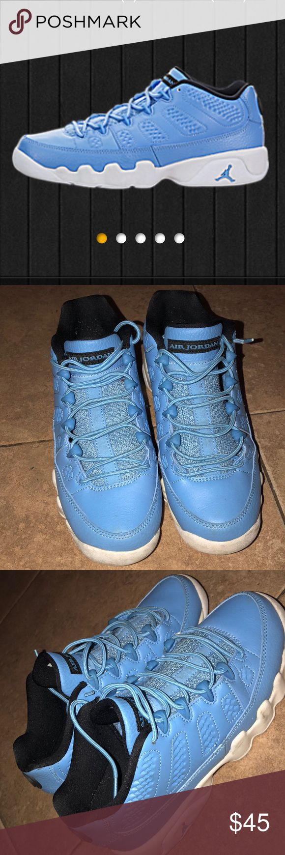 Low Top Pantone 9s. Pantone 9s collection. No box! Size 5 in men and size 6.5 women. Jordan Shoes Sneakers